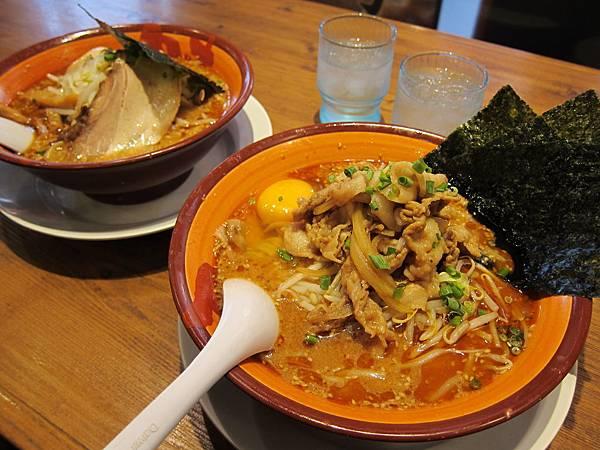 濃厚完熟味噌拉麵 (4)