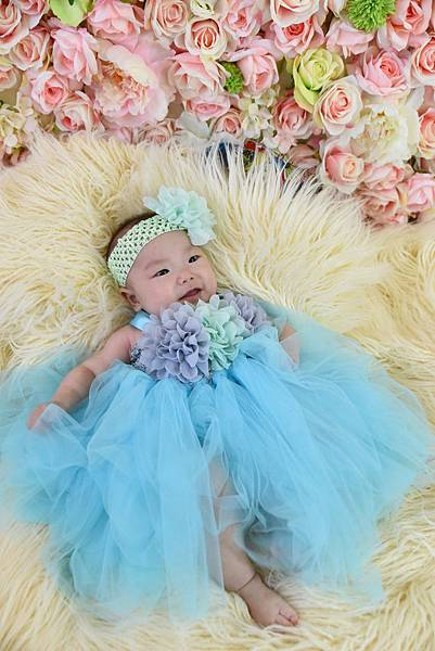 180131 Angel Nina 紗裙禮服DIY (5)