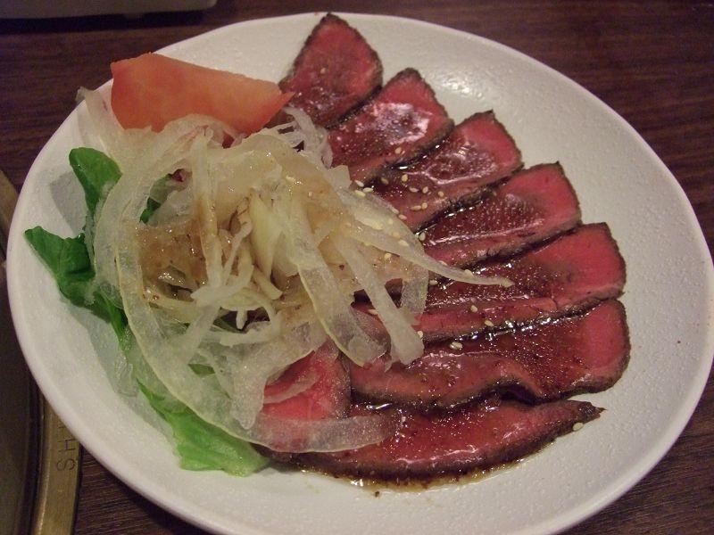 110219乾杯本店-義式生牛肉