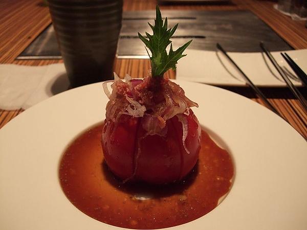 110124原燒-牛蕃茄沙拉