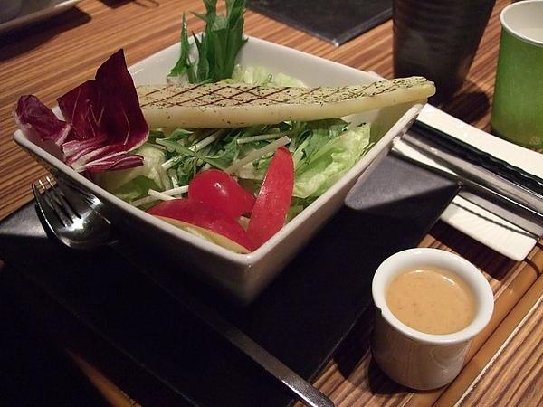 110124原燒-茭白筍青蔬沙拉