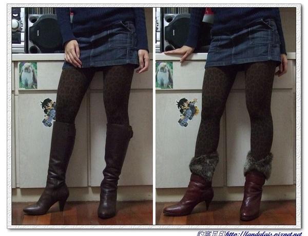 咖啡豹紋實穿VS長靴&中靴