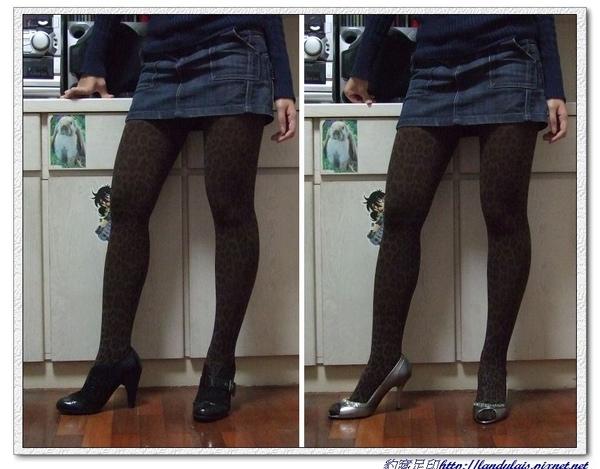 咖啡豹紋實穿VS踝靴&跟鞋