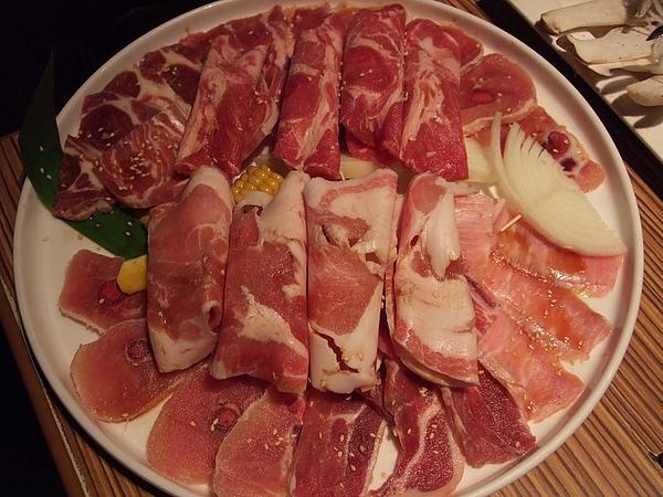 110124原燒-豬肉綜合拼盤&羊肉綜合拼盤