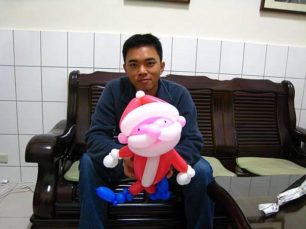 耶誕老公公氣球