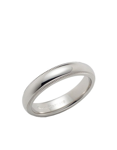 Tiffany&Co Milgrain 4mm