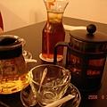 我的菊花枸杞茶(左一)好好喝