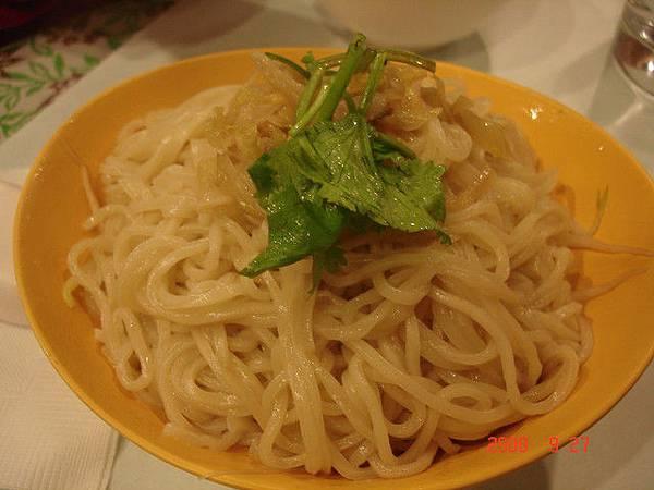 醋酸麵(?)