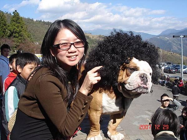 小艾&超人氣狗