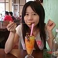 水蜜桃冰沙不錯喝