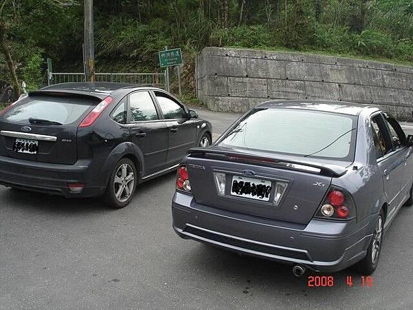 今天開的兩台車