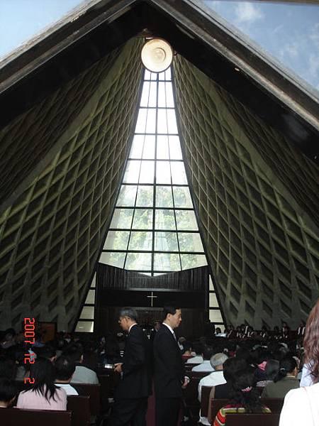 東海教堂剛好有禮拜