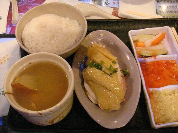 海南雞飯  還不錯