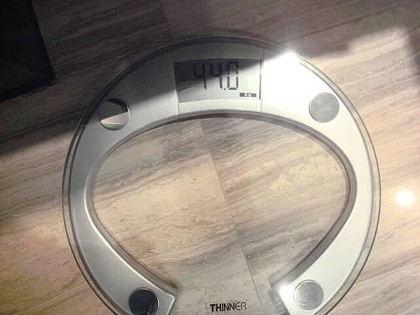 好不誠實的體重機