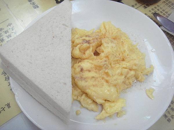 土司+炒蛋