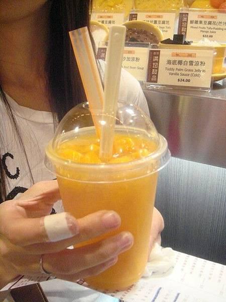 滿記甜品的芒果啥的