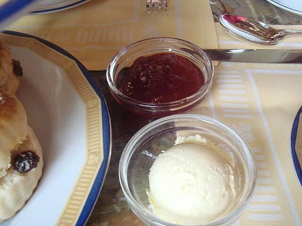 果醬 奶油&草莓