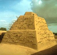 mud pyramid mosque revised