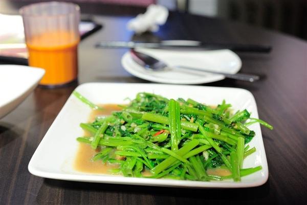泰鼎:蝦醬空心菜