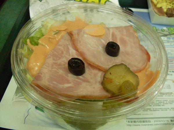 Subway沙拉