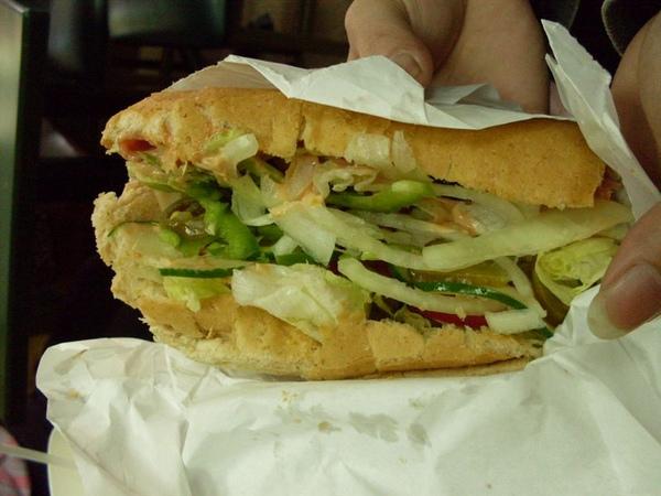 Subway起司堡