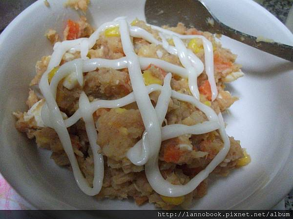 鮪魚薯玉米-沙拉