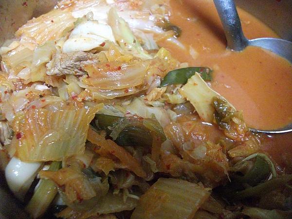 韓式泡菜炒花枝