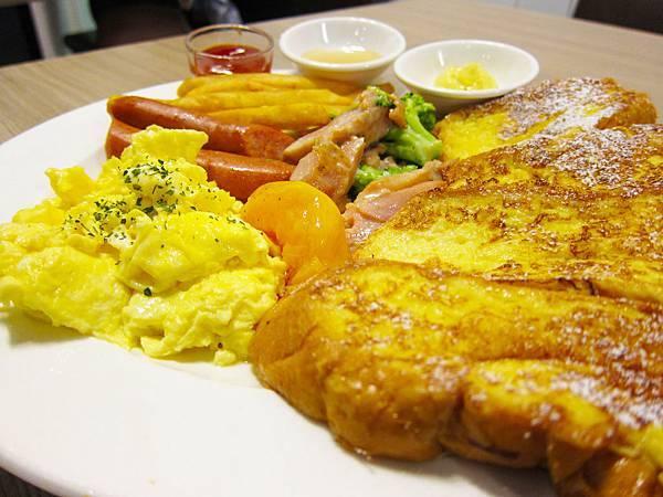 法式吐司早午餐 波思若 美食