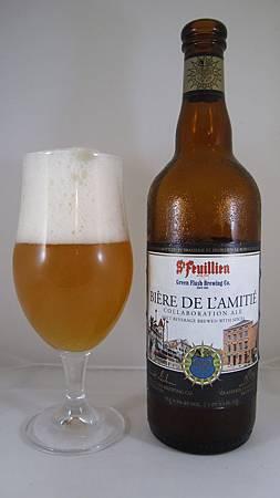 St. FeuillienGreen Flash Bière De L'Amitié 001