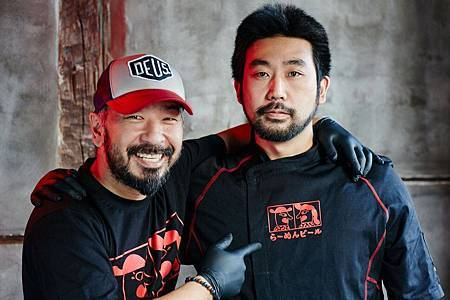 左為宇木大輔,右為尾谷拓郎