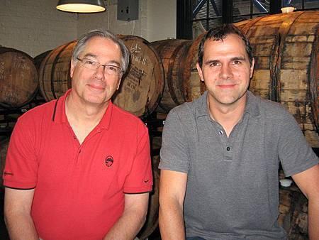 左為Larry Sidor;右為Steven Pauwels