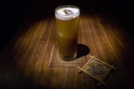 焙茶愛爾的前身─焙茶Gin Fizz