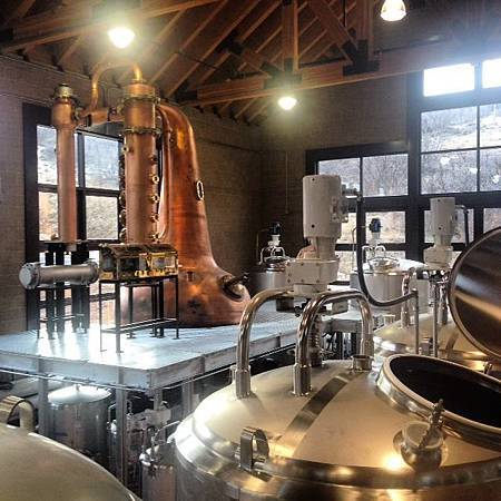 High West craft whiskey distillery