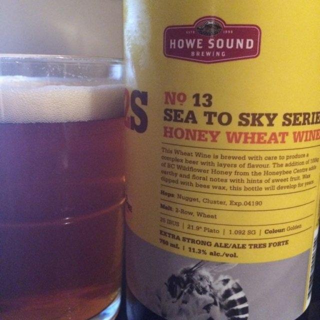 S2S Honey Wheat Wine