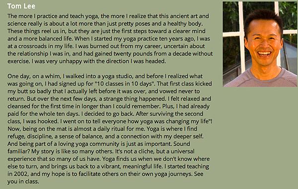 Tom Lee - Aha Yoga