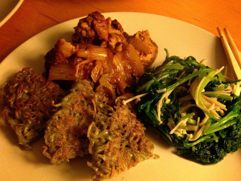 KimChi Chicken Dinner