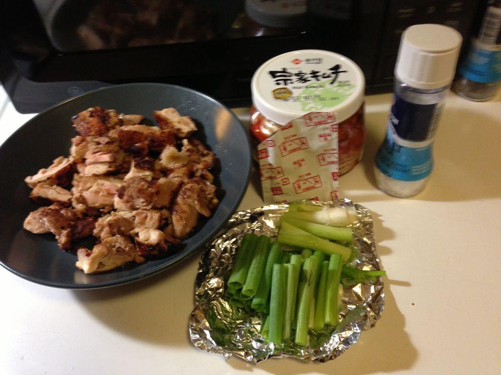 KimChi Chicken Prep. (Half Way)