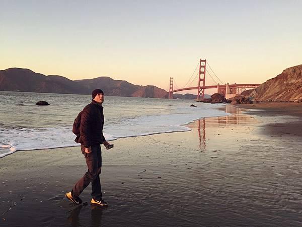 Golden Gate Bridge and B