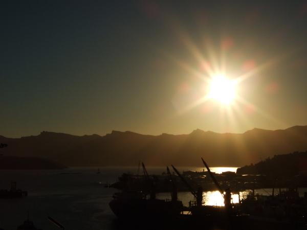 里頓港夕陽.JPG