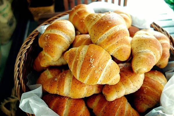 培燒胚芽鹽麵包