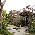 集集漂流木餐廳園景