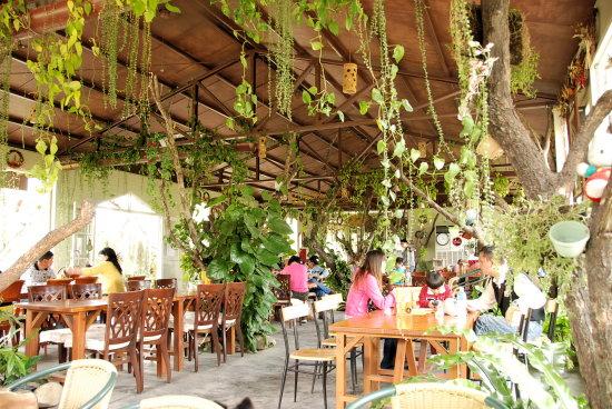 集集漂流木餐廳用餐環境