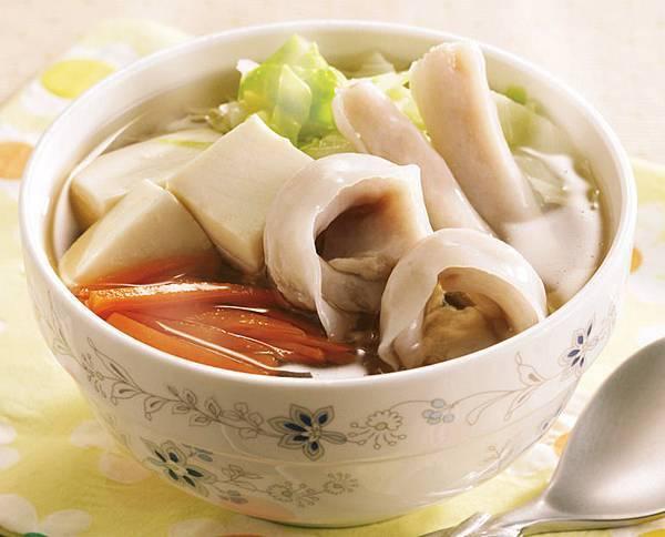 豆腐海鮮湯-1