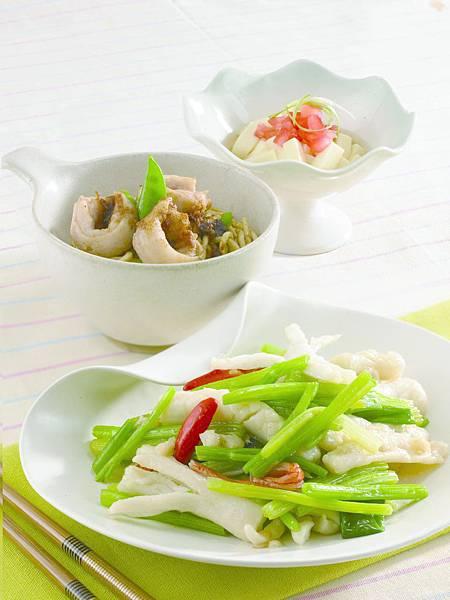 102-0315-202芹菜炒花枝餃