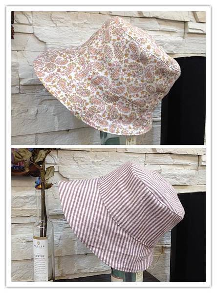 粉色草履蟲遮陽帽