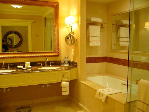 最喜歡大浴室