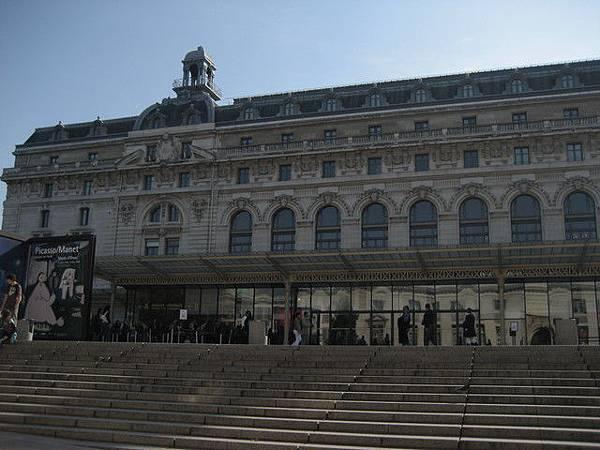 奧賽美術館入口處