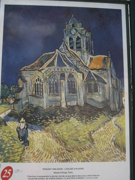 1228210004-梵谷畫小鎮上的教堂.jpg