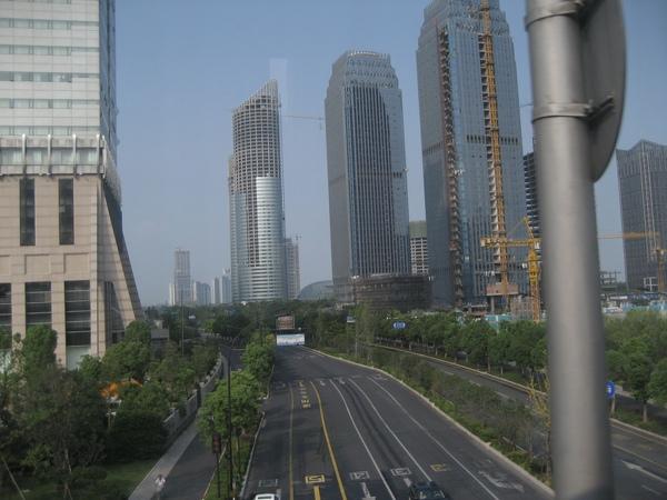 杭州大廈林立,一點都不輸台灣