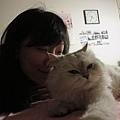 1/18 休假宅在家,真是一種享受!姊姊的愛貓陪我一整天~